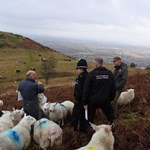 Police with Sheep End Hill low res.jpg